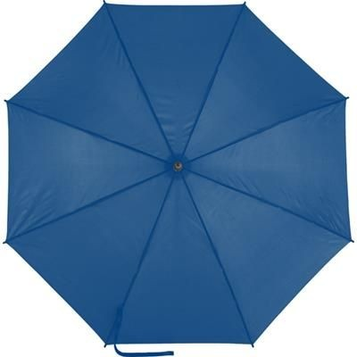 Picture of AUTOMATIC POLYESTER UMBRELLA in Blue