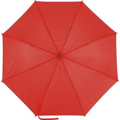 Picture of AUTOMATIC POLYESTER UMBRELLA in Red