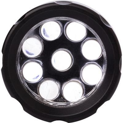 Picture of STEEL TORCH with 9 LED Lights in Black