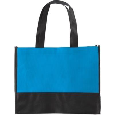 NON WOVEN 80g COLOUR BAG in Light Blue