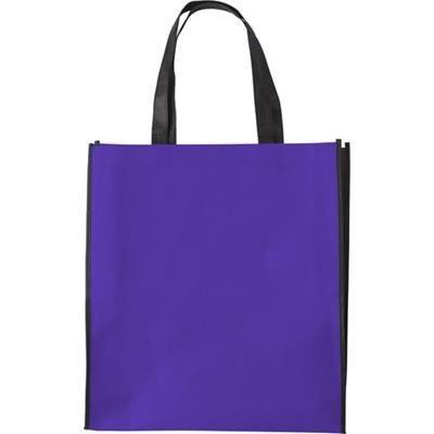 Picture of NON WOVEN 80g COLOUR BAG in Purple