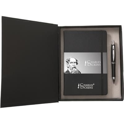 Picture of CHARLES DICKENS BOXED PEN AND PAD SET