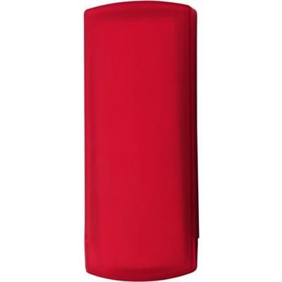 Picture of POCKET PLASTER PACK in Translucent Red