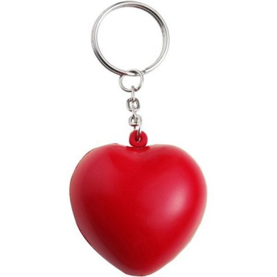 Picture of STRESS HEART, KEY HOLDER KEYRING