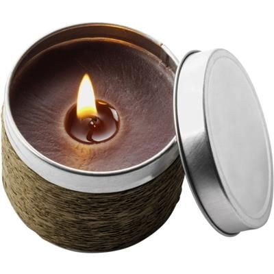 Picture of GLOW CANDLE in Brown