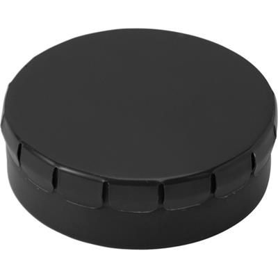 Picture of NOVEL ROUND MINTS TIN in Black