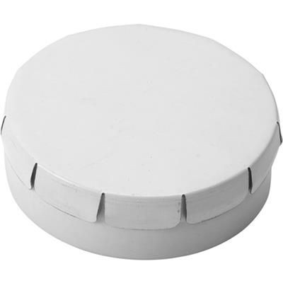 Picture of NOVEL ROUND MINTS TIN in White