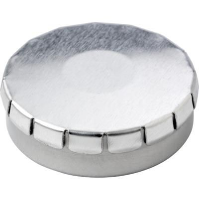Picture of NOVEL ROUND MINTS TIN in Silver