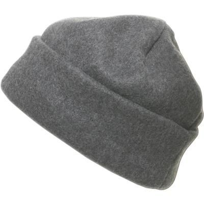 Picture of FLEECE BEANIE HAT in Grey