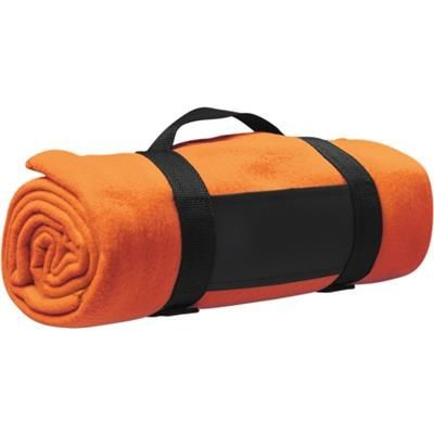 Picture of FLEECE BLANKET in Orange