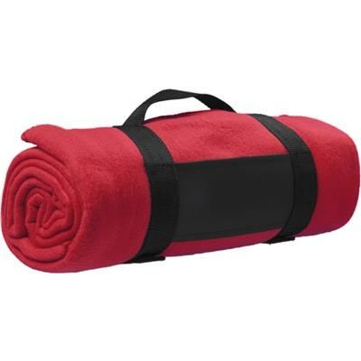 Picture of FLEECE BLANKET in Red