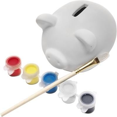 Picture of PIGGY BANK MADE OF PLASTER