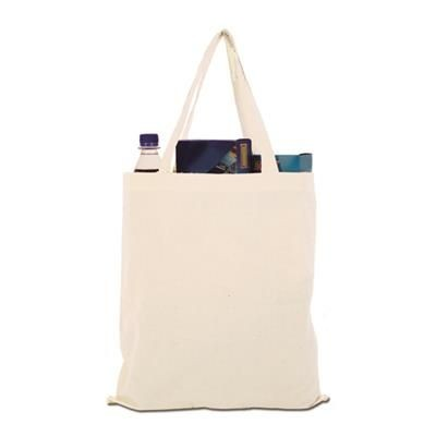 Picture of COTTON SHOPPER TOTE BAG in Natural