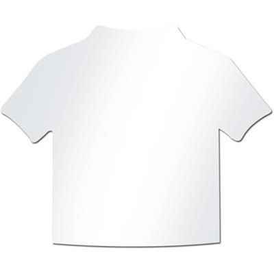 Picture of T-SHIRT SHAPE WHITE PAPER INSERT