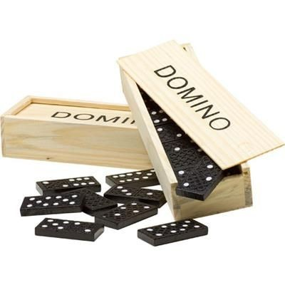 Picture of DOMINO GAME in a Wood Box