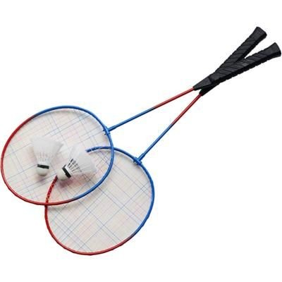 Picture of BADMINTON SET includes 2 Rackets & 2 Shuttlecocks
