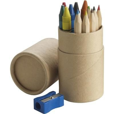 Picture of COLOURING PENCIL SET in Natural