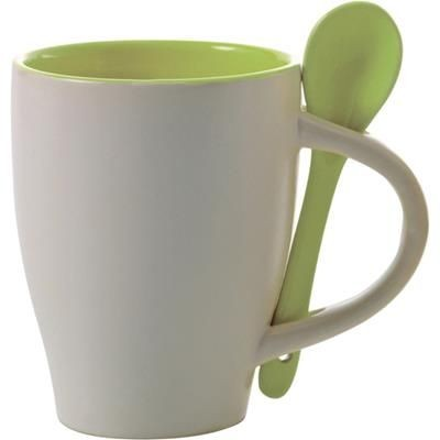 Picture of COFFEE MUG with Spoon