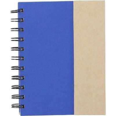 Picture of SPIRAL WIRO BOUND NOTE BOOK with Magnetic Closure in Cobalt Blue