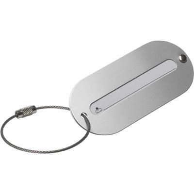 Picture of ALUMINIUM LUGGAGE TAG in Silver