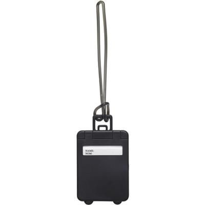 Picture of PLASTIC LUGGAGE TAG in Black
