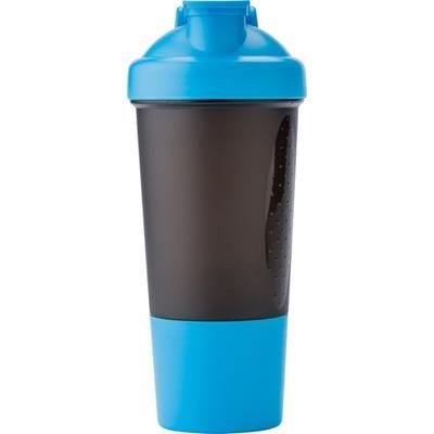 Picture of PLASTIC 500ML PROTEIN SHAKER in Pale Blue