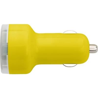 Picture of PLASTIC CAR POWER ADAPTER in Yellow