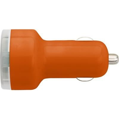 Picture of PLASTIC CAR POWER ADAPTER in Orange