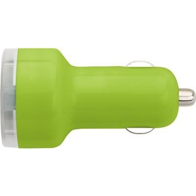Picture of PLASTIC CAR POWER ADAPTER in Light Green