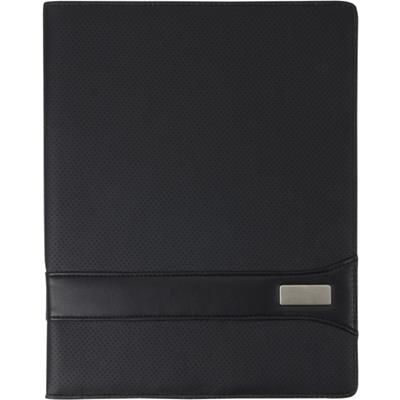 Picture of A4 PVC CONFERENCE FOLDER in Black