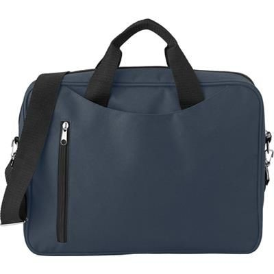 Picture of POLYESTER LAPTOP BAG in Blue