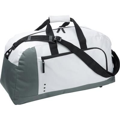 Picture of SPORTS & TRAVEL BAG HOLDALL in White