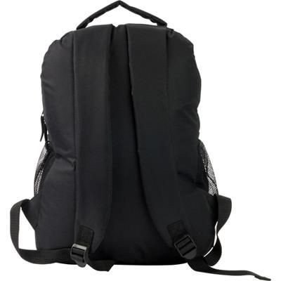 Picture of 600D POLYESTER BACKPACK RUCKSACK in Black