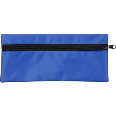 Picture of PENCIL CASE with Zip in Cobalt Blue
