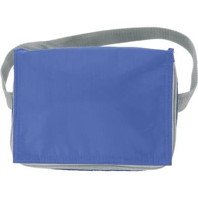 Picture of SIX CAN POLYESTER COOL BAG in Pale Blue