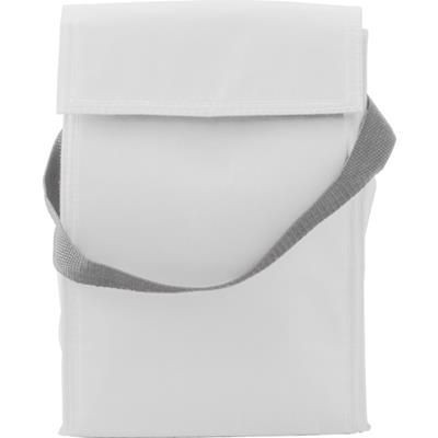 Picture of COOLER & LUNCH BAG in White