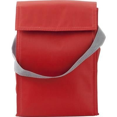 Picture of COOLER & LUNCH BAG in Red