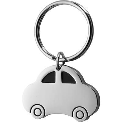 Picture of CAR SHAPE METAL KEYRING in Black Gift Box