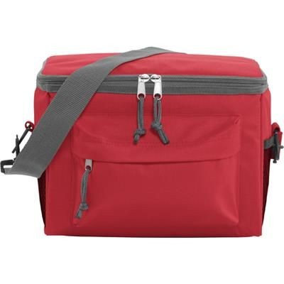 Picture of POLYESTER 600D COOLER in Red