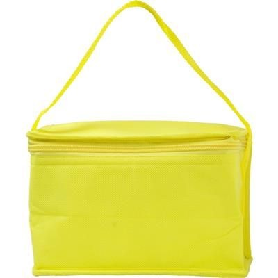 Picture of SIX CAN NON WOVEN COOL BAG in Yellow