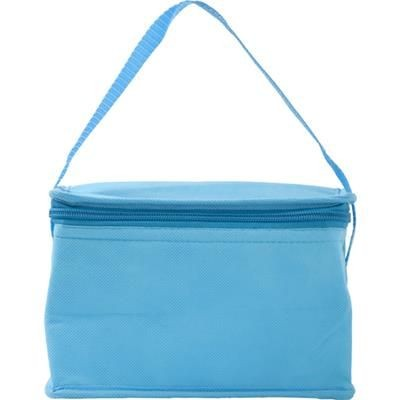 Picture of SIX CAN NON WOVEN COOL BAG in Light Blue