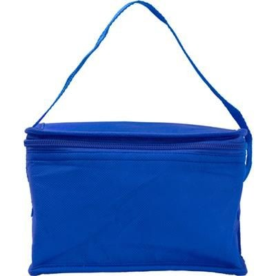 Picture of SIX CAN NON WOVEN COOL BAG in Cobalt Blue