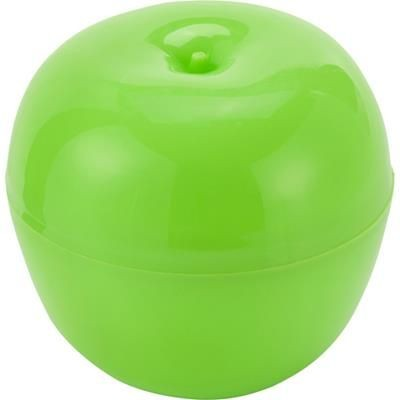Picture of PLASTIC APPLE BOX in Pale Green