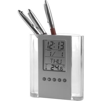 Picture of PEN HOLDER with Clock