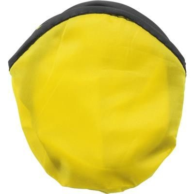 Picture of FOLDING FRISBEE & POUCH in Yellow