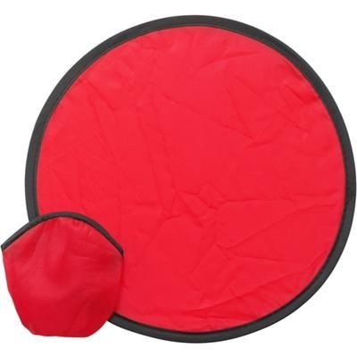 Picture of FOLDING FRISBEE & POUCH in Red