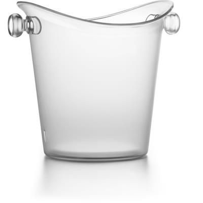 Picture of PLASTIC COOLER ICE BUCKET in Translucent Clear