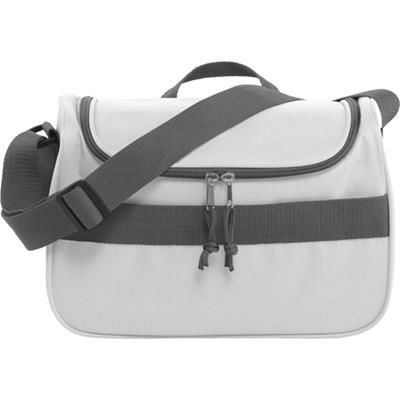 Picture of POLYESTER 600D COOL BAG in White