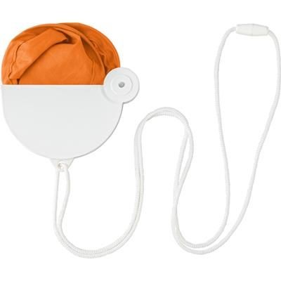 Picture of NYLON FOLDING HAND HELD FAN in Orange