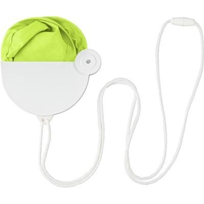 Picture of NYLON FOLDING HAND HELD FAN in Pale Green
